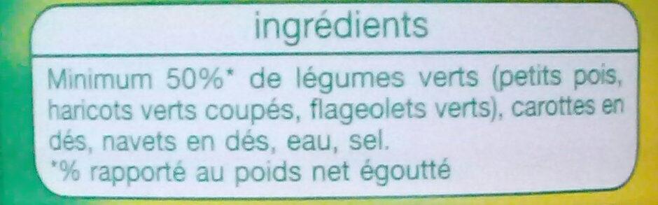 Macédoine de légumes - Ingrediënten