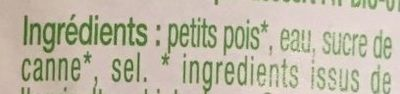 Petits pois - Ingredients - fr