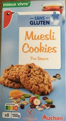 Muesli Cookies pur beurre - Product