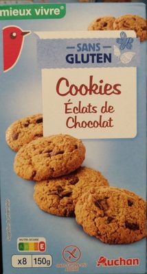 Sans gluten cookies éclats de chocolat 150g - Product