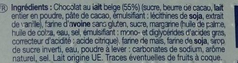 Choco Crunchy - Ingrédients