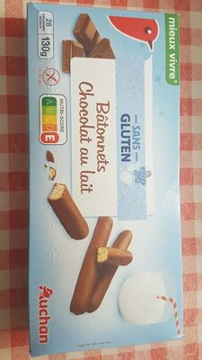 Bâtonnets chocolat au lait - Produit - fr