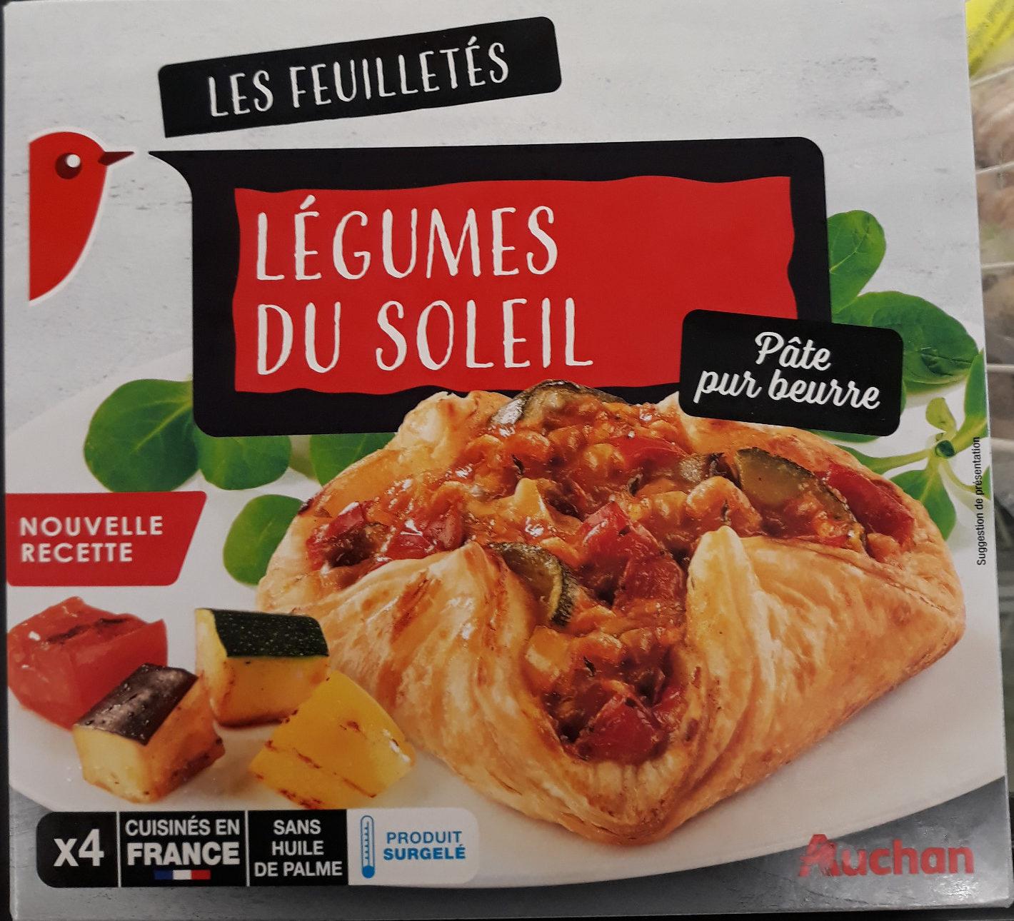 Feuilletés legumes du soleil - Produit - fr