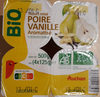 Yaourt mixé poire vanille aromatisé - Produit