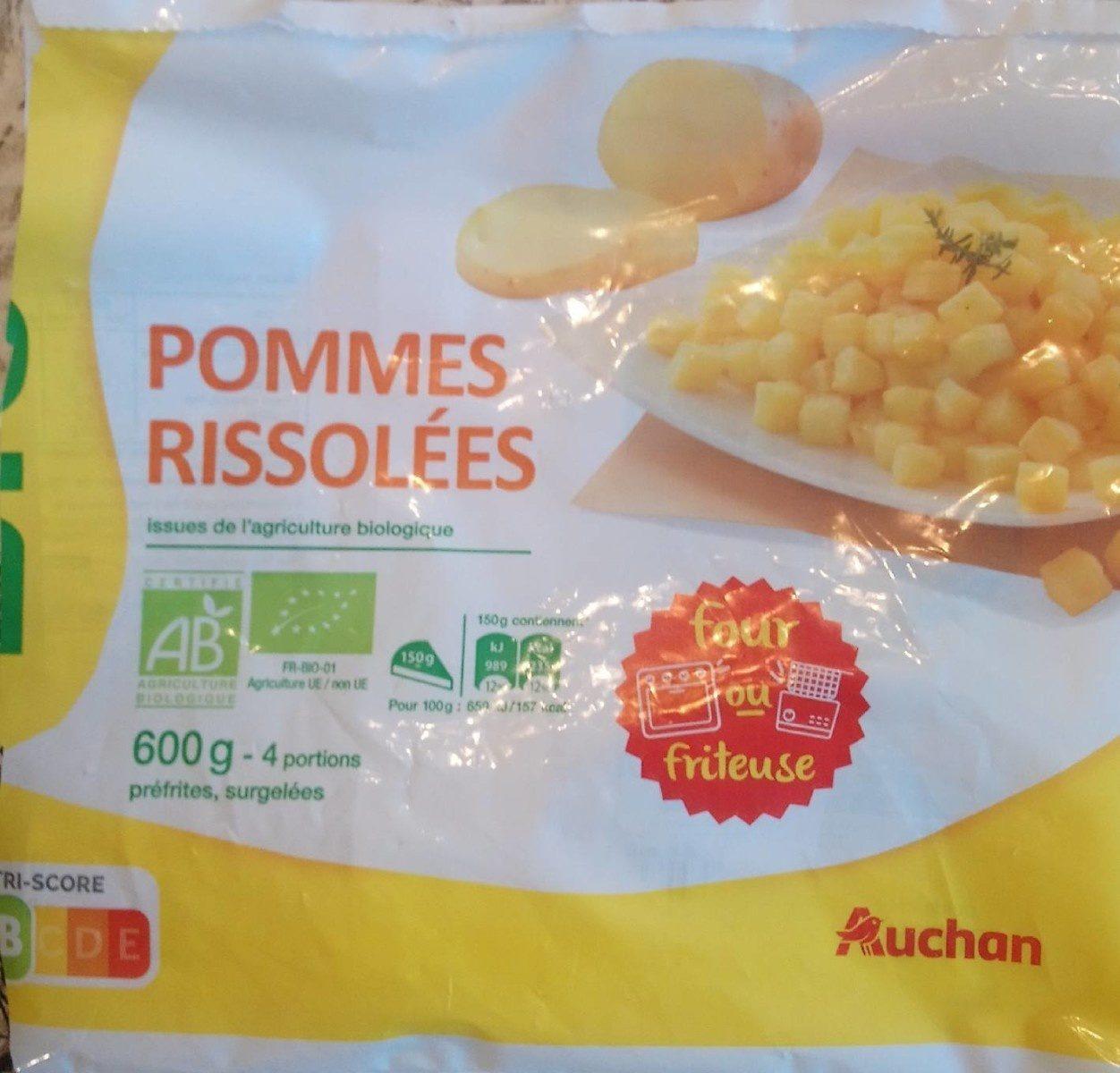 Pommes rissolées BIO - Produit - fr