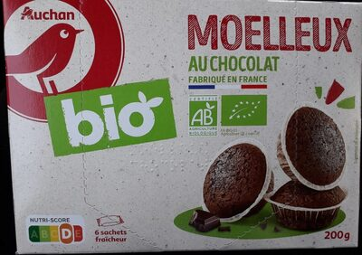 Moelleux au chocolat bio - Prodotto