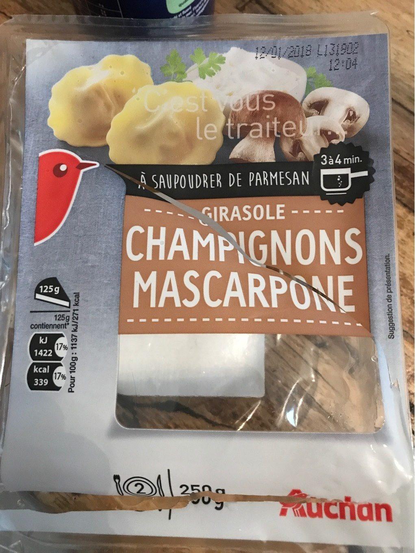 Girasole Champignons Mascarpone - Product - fr