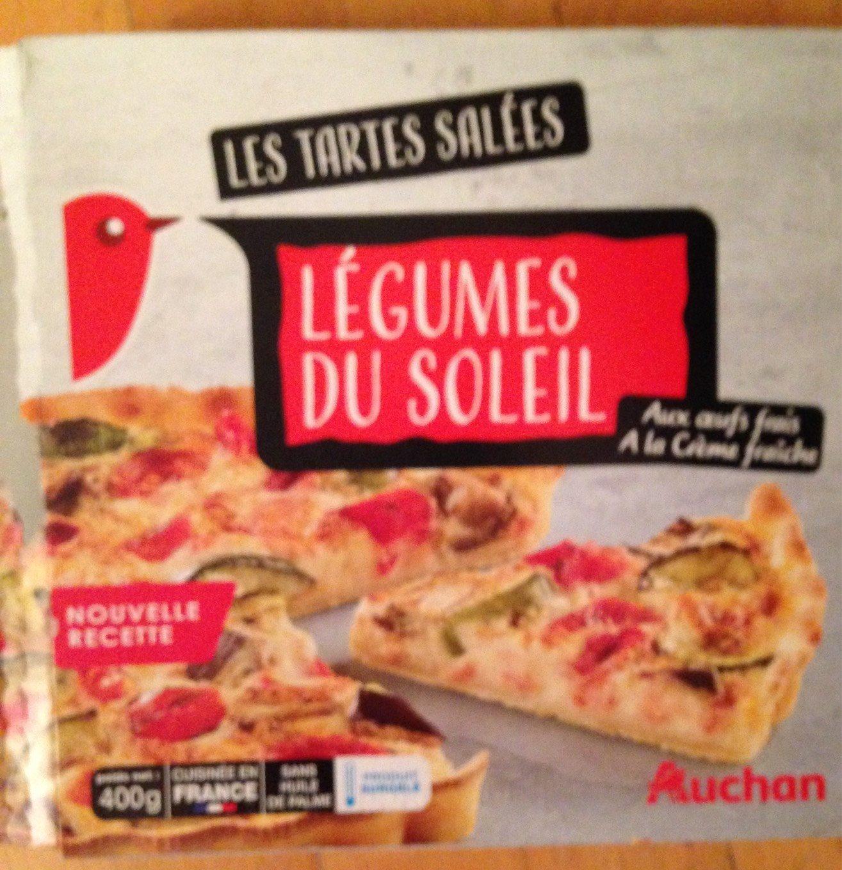 Tarte Legumes Du Soleil Auchan 400 G