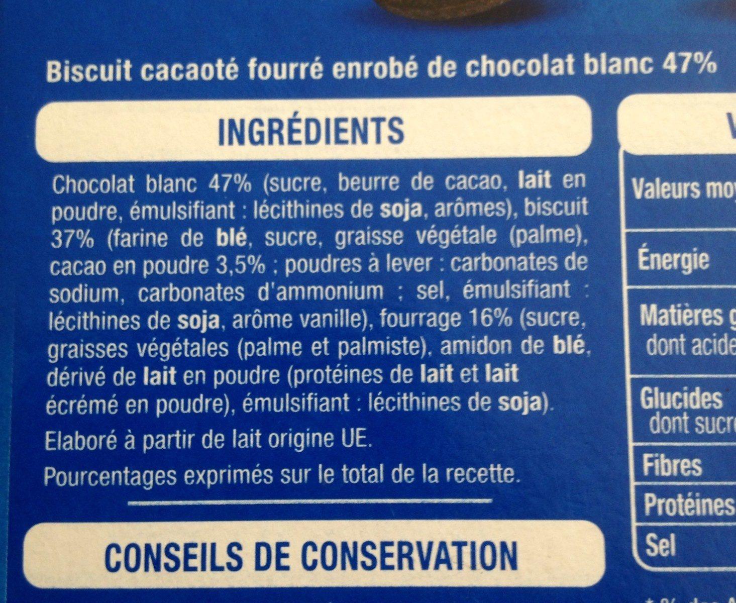 Creamloop - Ingredients