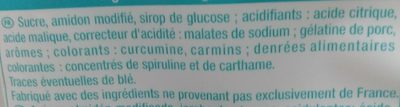Surfboard acid ++ - Ingrediënten