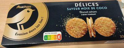 Délice saveur noix de coco - Product