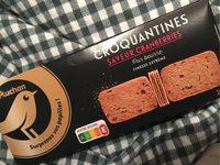 Croquantines Saveur Cranberries - Produit