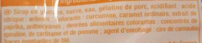 Tsssnake acid - Ingredients