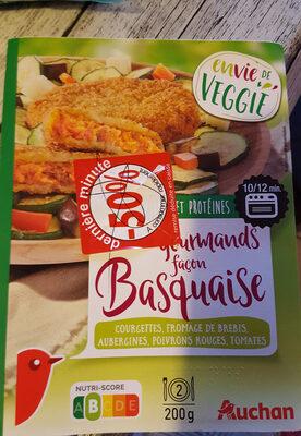 Panés gourmands façon basquaise - Produit - fr