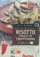 Risotto poulet et champignons - Product