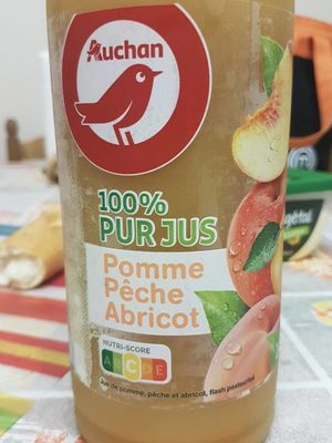 Jus pomme pêche abricot - Product