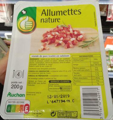 Allumettes nature - Product