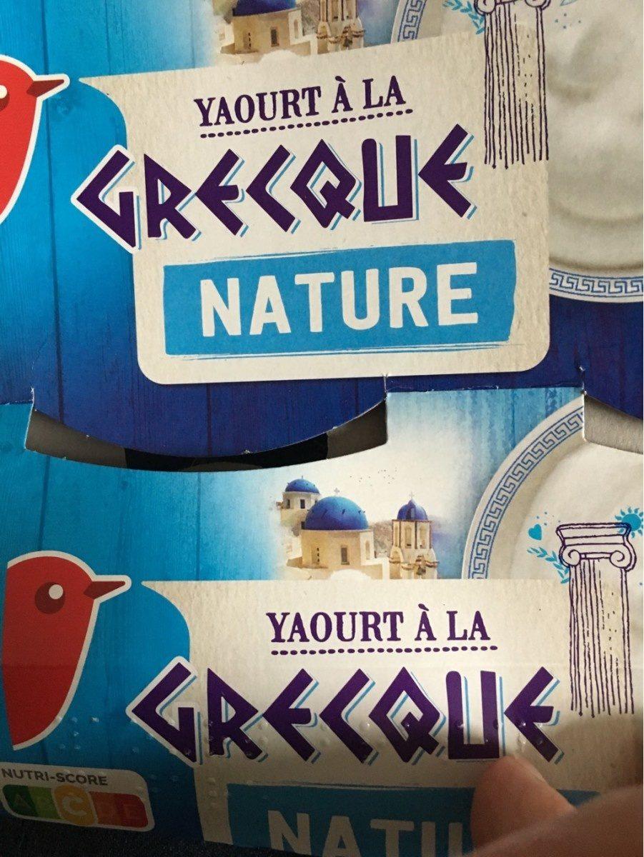 Yaourt à la grecque - Produit