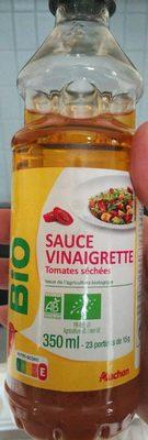 Sauce vinaigrette tomates séchées bio - Product