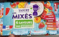 Yaourt mixé 6 saveurs - Product