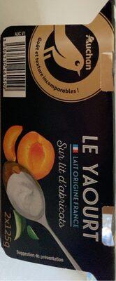 Le yaourt sur lit d'abricot - Product - en