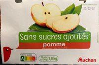 Pomme sans sucre Ajoutés - Product - fr