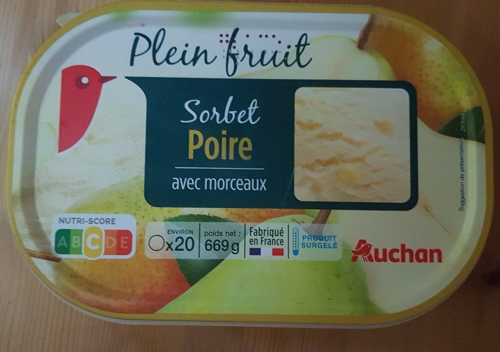 Sorbet Poire - Product
