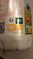 Lait équitable - Instruction de recyclage et/ou informations d'emballage - fr