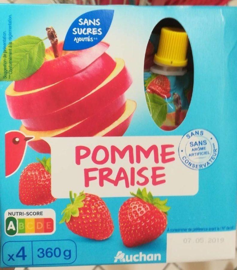 Compote pomme fraise - Produit