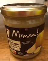 Purée de Pomme du Sud-Ouest et Citron de Corse - Produit - fr