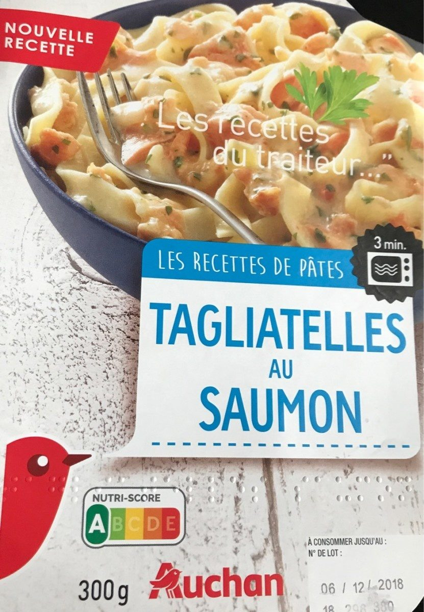 Tagliatelles au Saumon - Product