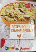Pâtes Poulet champignons - Produit