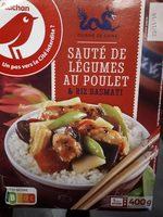 Sauté de légumes au poulet - Product