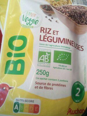 Riz et légumineuses - Product