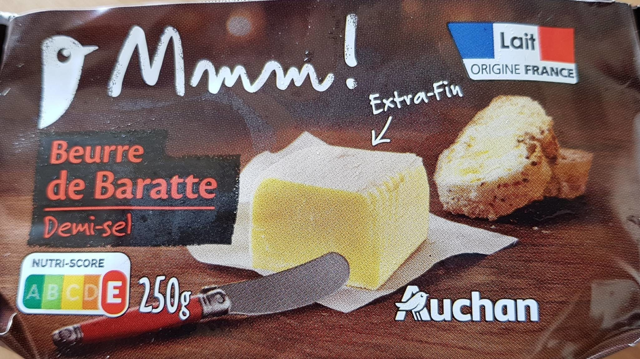 Beurre de Baratte extra-fin Demi-Sel - Product