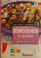 Bourguignon et ses pâtes - Product - fr