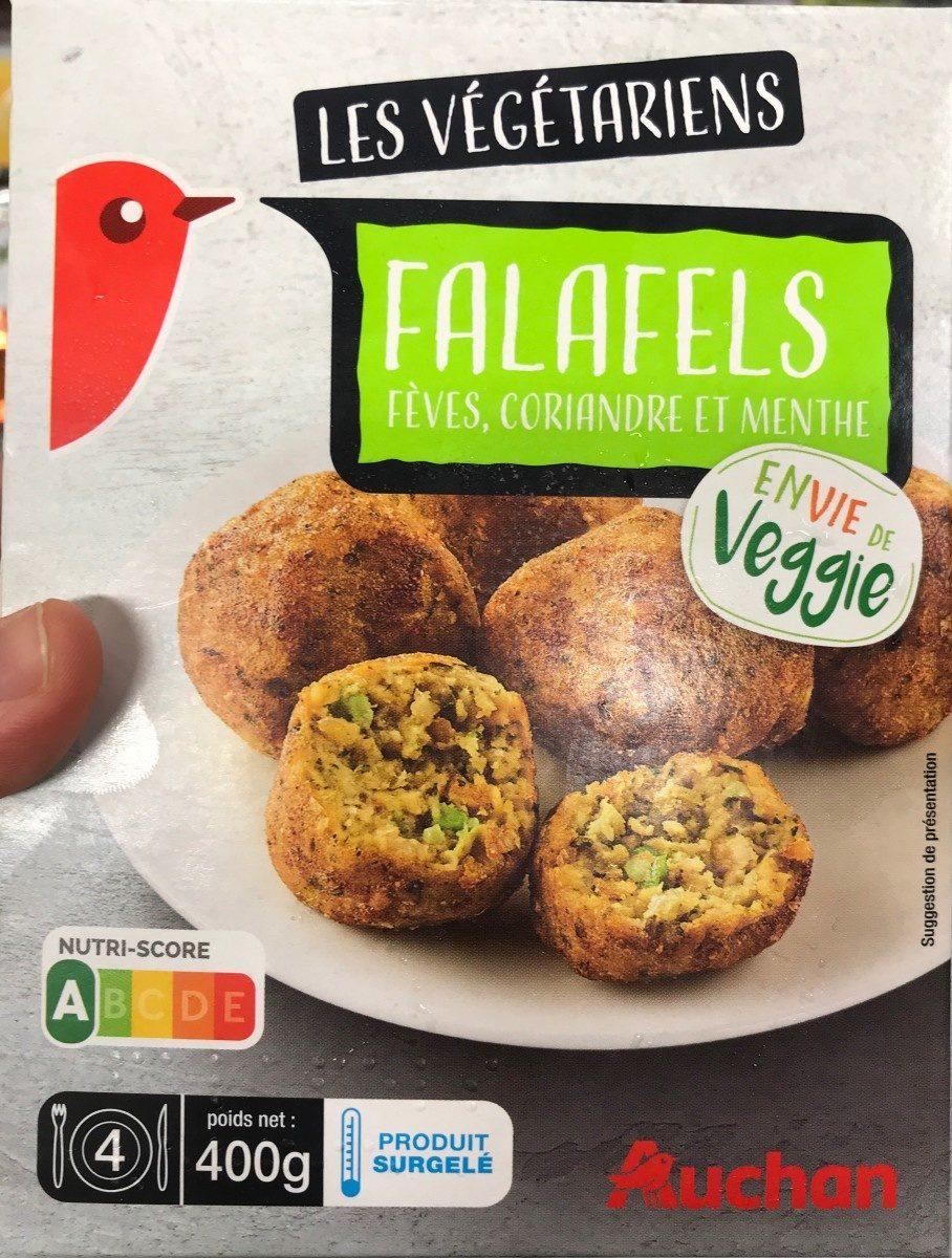 Les vegetariens Falafels fèves, coriandre et menthe - Product - fr