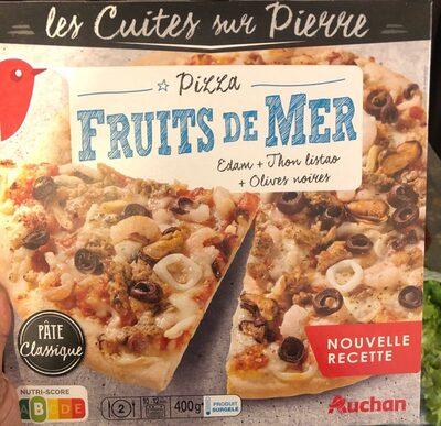 Pizza fruit de mer - Product - fr