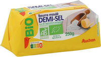 Beurre moulé demi-sel bio - Produit - fr