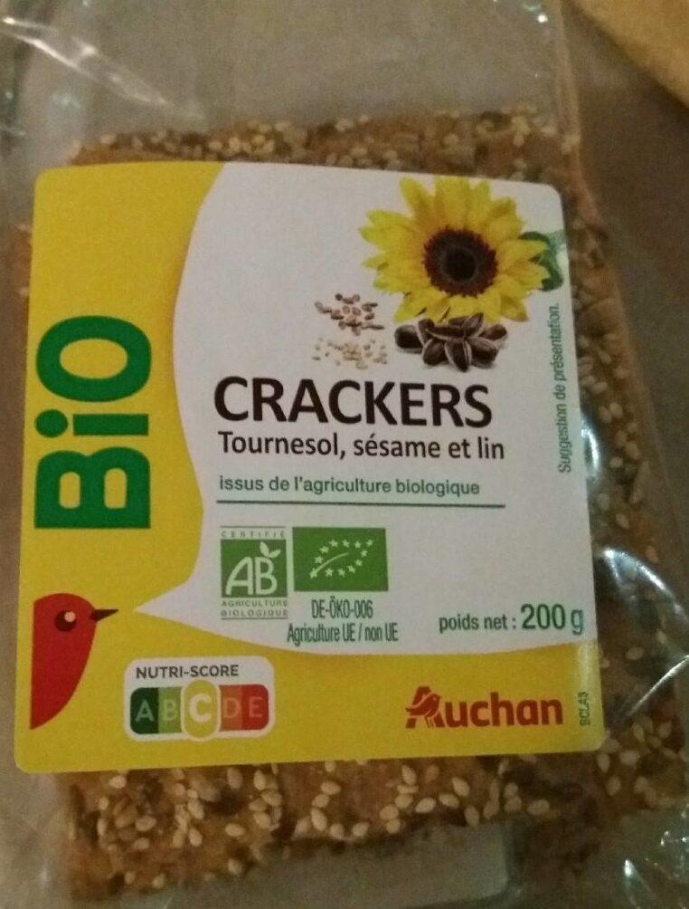 Crackers tournesol sésame et lin - Product - fr