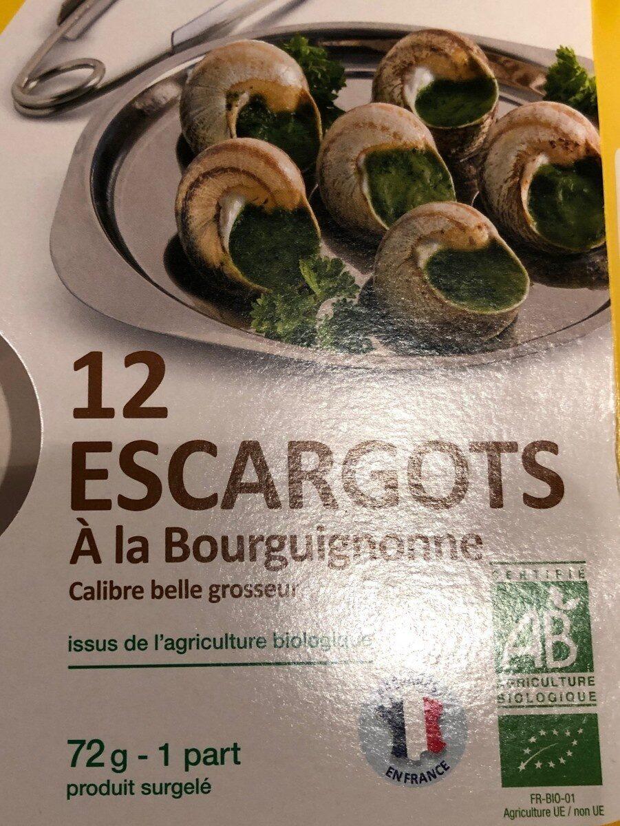 Escargots bourgnonne - Produit - fr