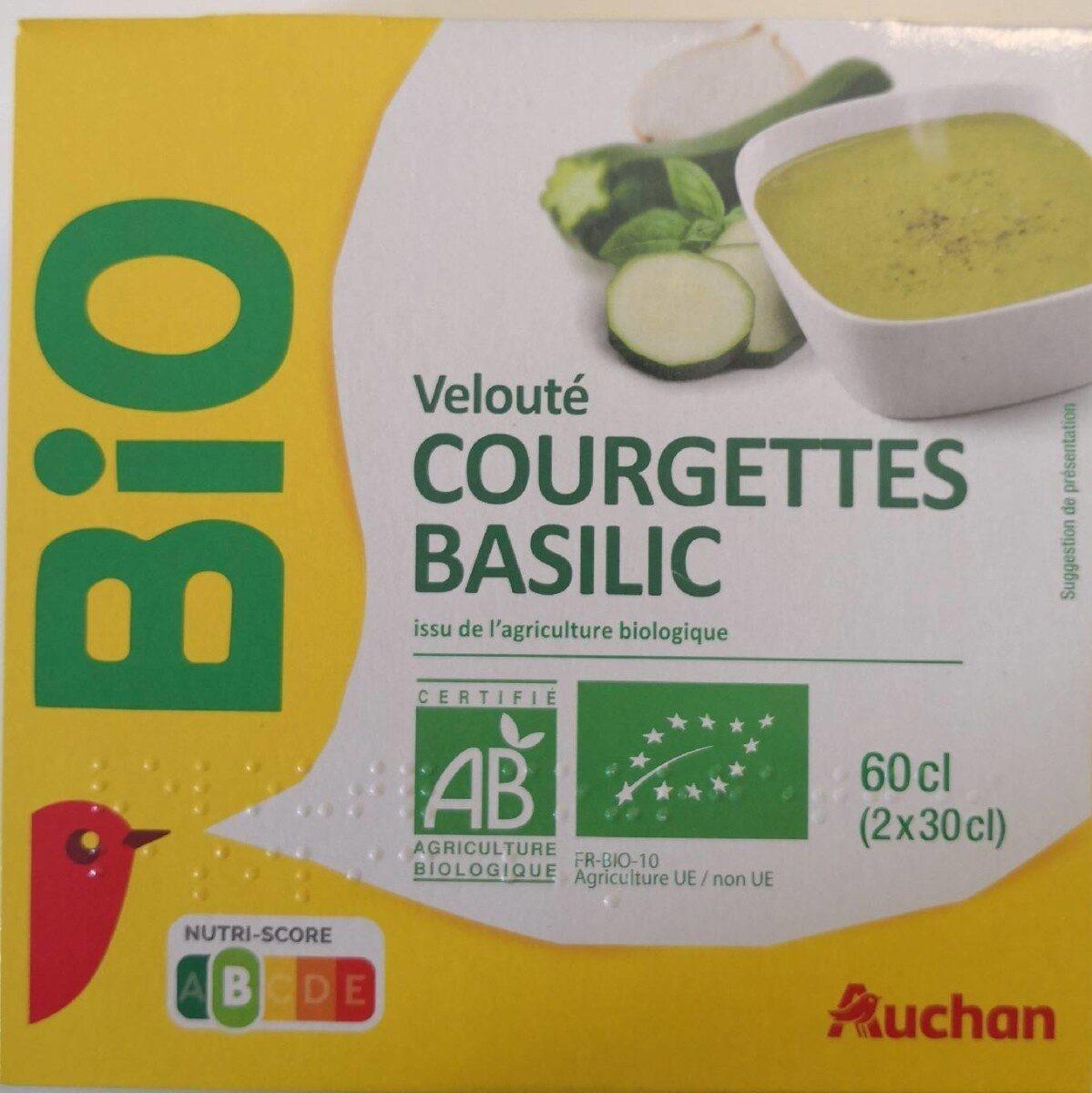 Velouté courgettes basilic - Produit - fr