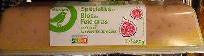 Spécialité de Bloc de Foie gras de canard aux pépites de figue - Product
