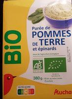 Purée de Pomme de terre et épinards - Produit