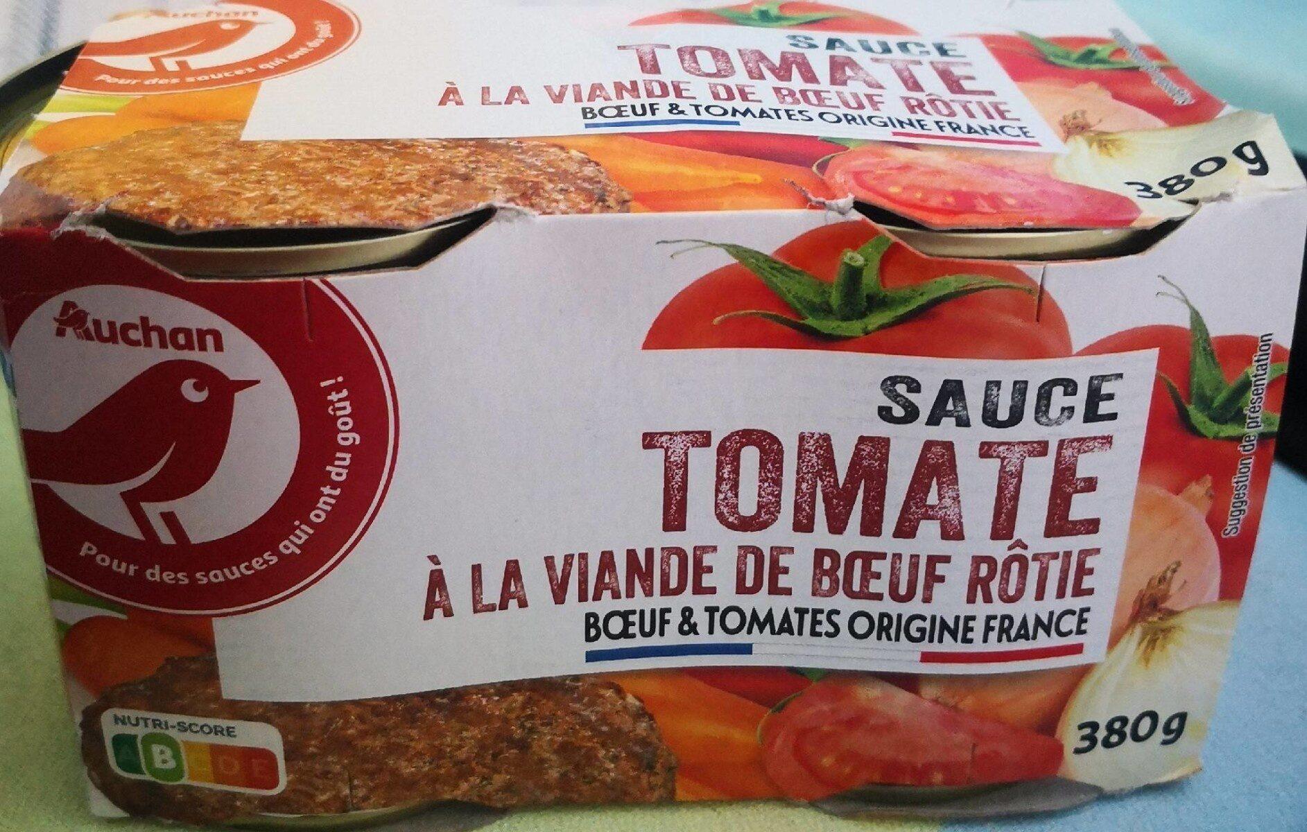 Sauce tomate à la viande de boeuf rôtie - Produit - fr