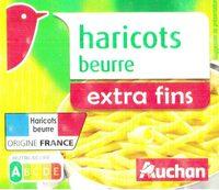 Haricots beurre extra fins - Produit - fr
