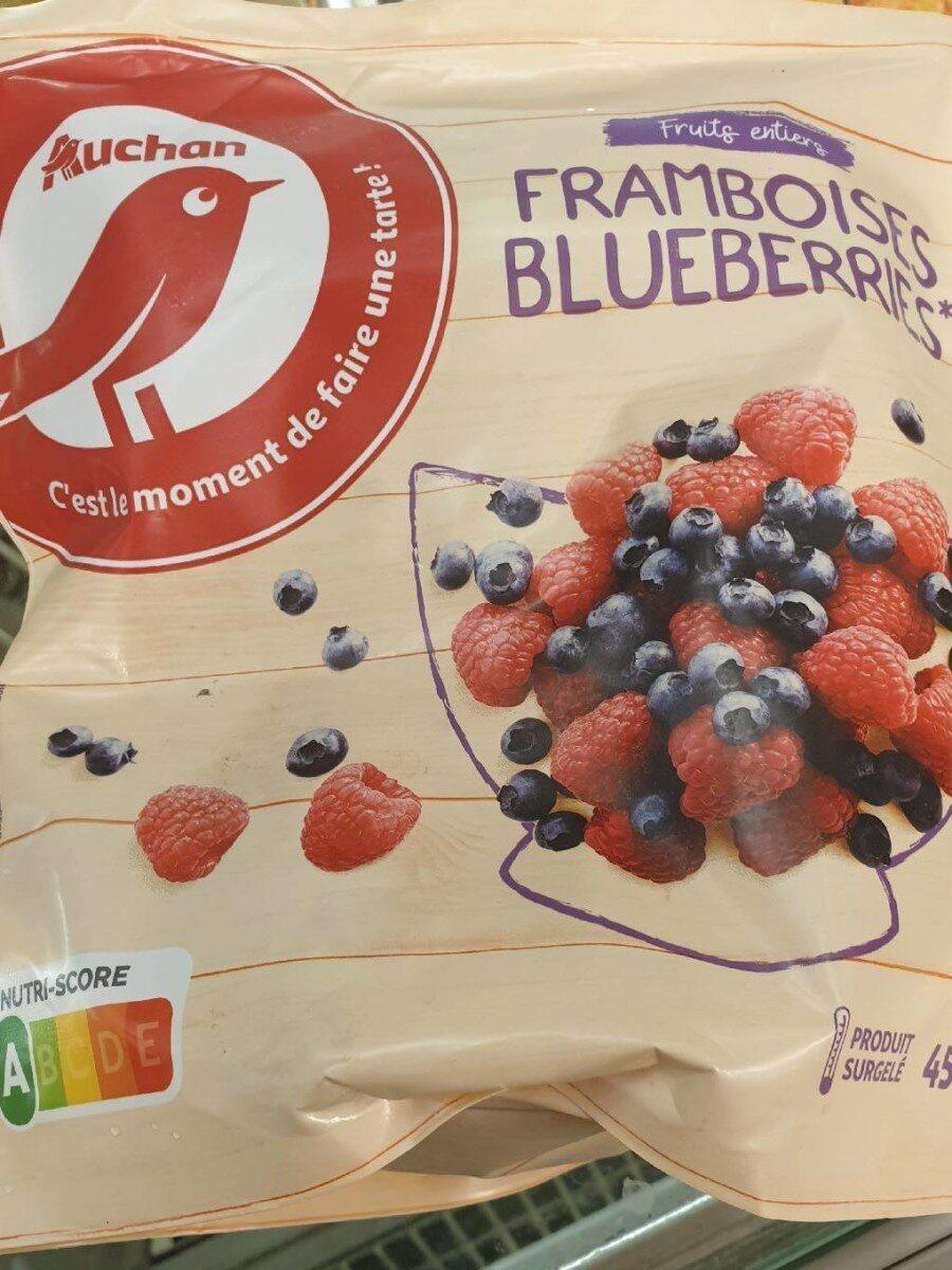 framboise blueberries auchan - Produit - fr