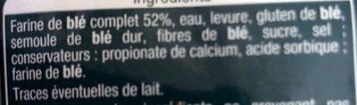 Muffins complet - Pain spécial - Ingrediënten - fr