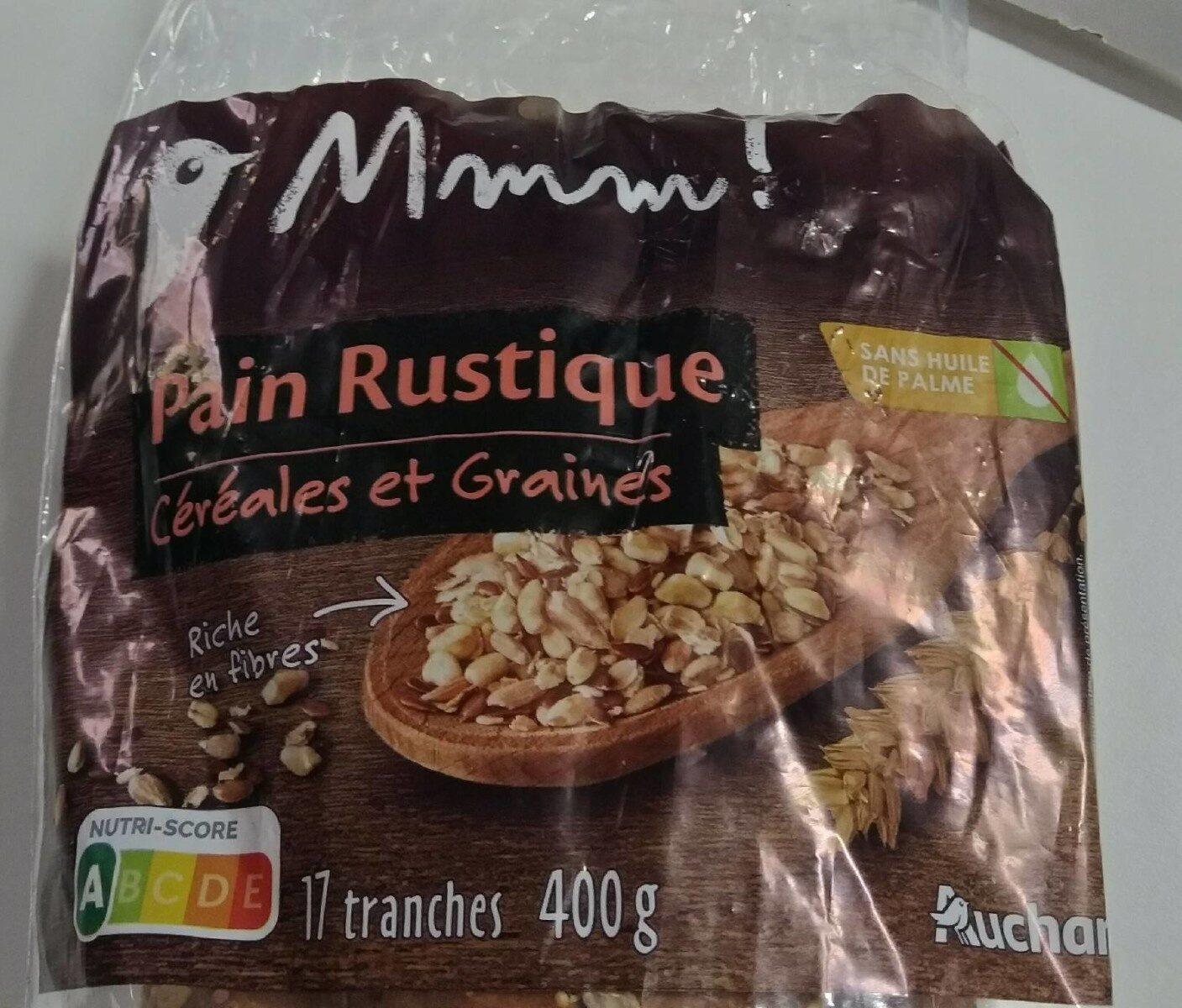 Pain rustique céréales et graines - Prodotto - fr