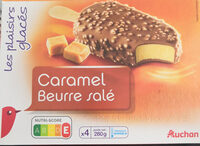 Glace caramel beurre salé - Produit